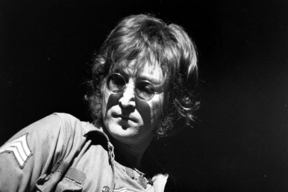 John Lennon en 1972... (PHOTO ARCHIVES ASSOCIATED PRESS)