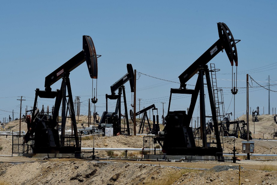 Le cours du baril de «light sweet crude»... (PHOTO MARK RALSTON, ARCHIVES AFP)