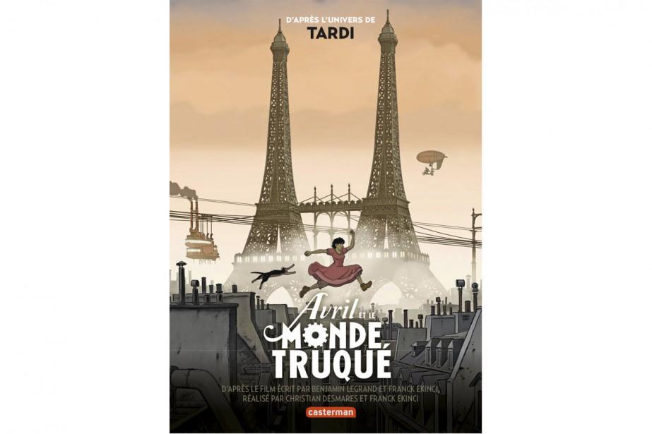 Pour une rare fois, voici un album adapté du film d'animation franco-québécois,...