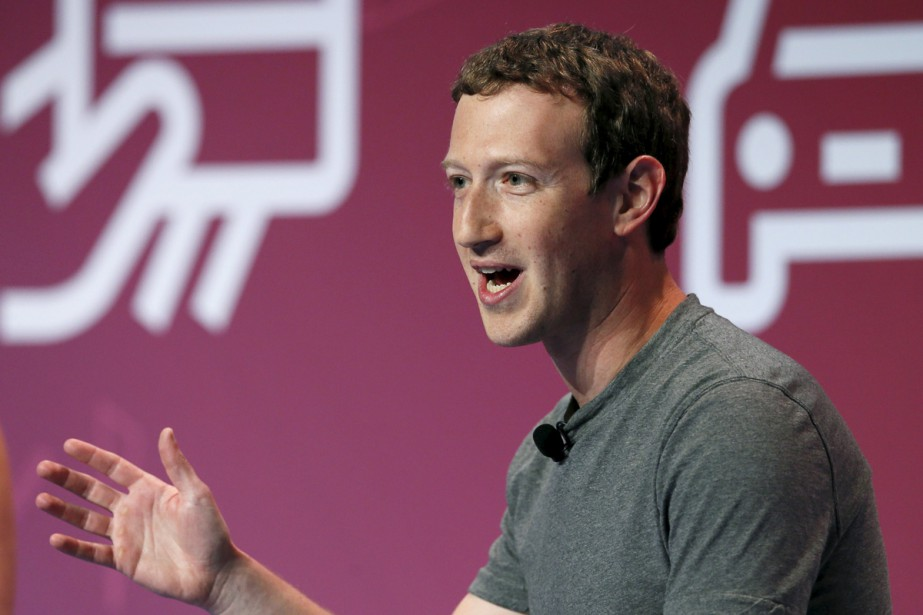 Mark Zuckerberg, fondateur de Facebook.... (PHOTO REUTERS)