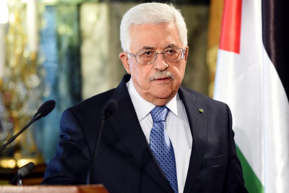 Le président Mahmoud Abbas a, à titre personnel,... (PHOTO FETHI BELAID, ARCHIVES AFP)