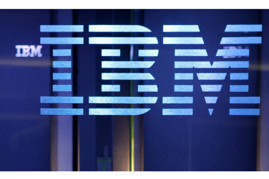 Le groupe informatique IBM a annoncé lundi une série de... (PHOTO AP)