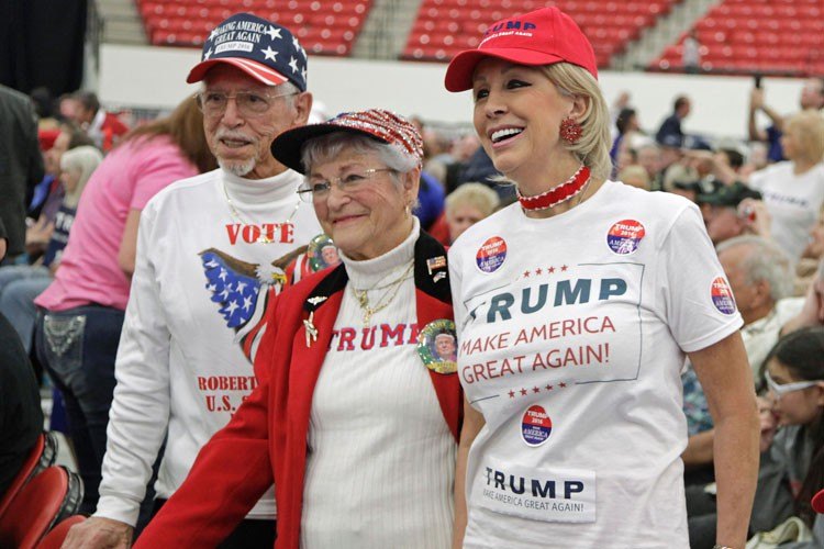 Donald Trump part de nouveau favori dans le... (PHOTO AFP)