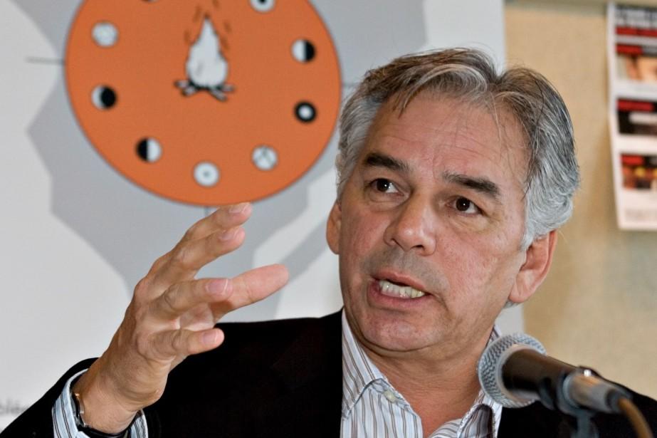 Ghislain Picard, chef de l'Assemblée des Premières Nations... (PhotoJacques Boissinot, Archives La Presse Canadienne)