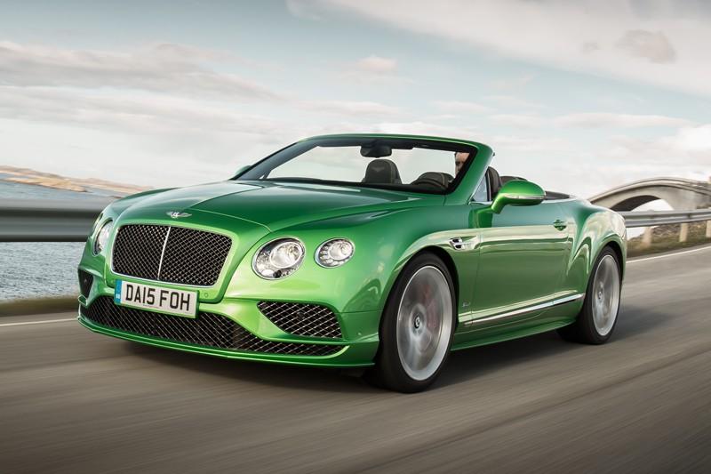 Bentley Continental GT Speed convertible (Photo fournie par Bentley Motors)