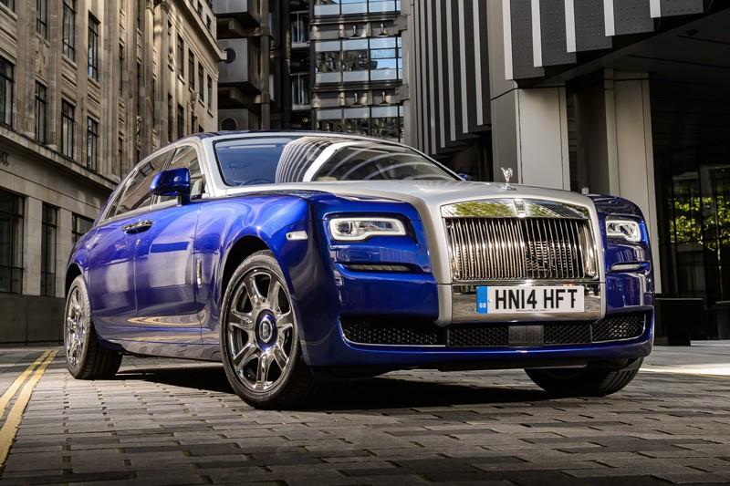 Rolls-Royce Ghost Series II 2016 (Photo fournie par Rolls-Royce)