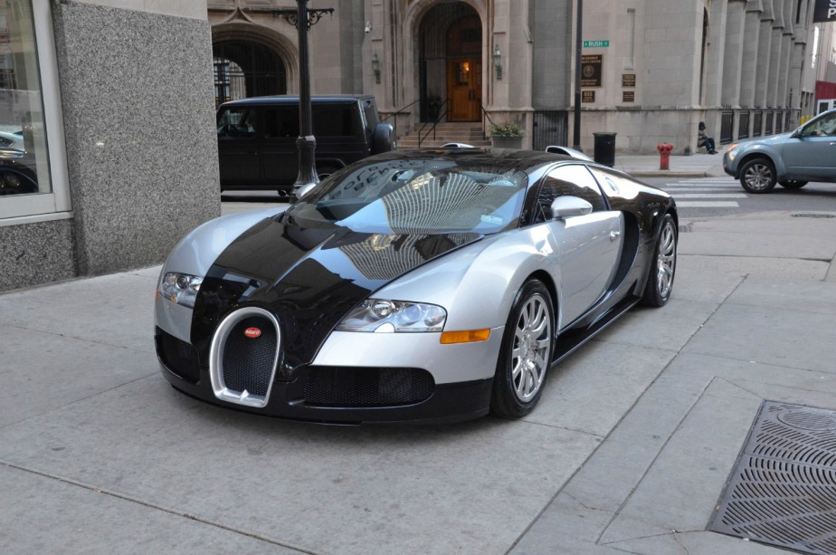 Bugatti Veyron 2008 (Photo fournie par Bugatti)