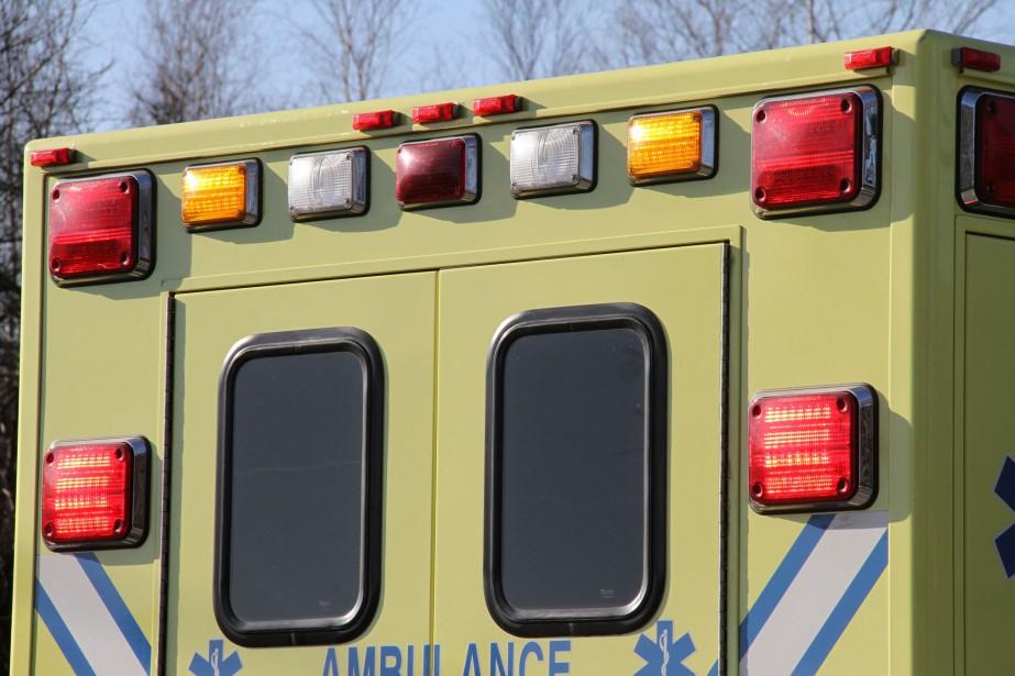 Une conductrice a été blessée grièvement dans une... (photo archives)