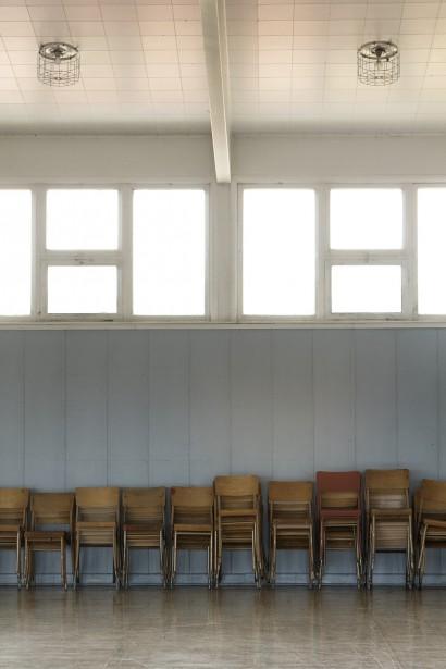 <em>Gaspésie human less </em>Partie II:Écoles no 2, Saint-Jogues (tirage jet d'encre sur papier photorag, 16 x 24 po) (Guillaume D. Cyr et Yana Ouellet)