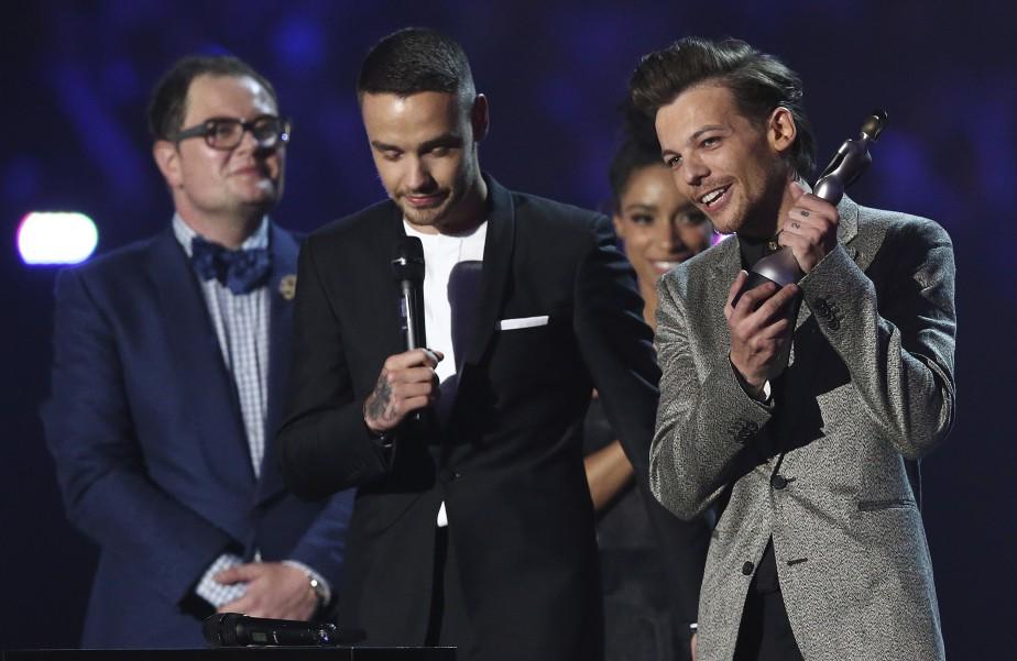 One Direction a reçu un prix pour le Meilleur clip, pour<em>Drag Me Down</em> (AFP, Justin Tallis)