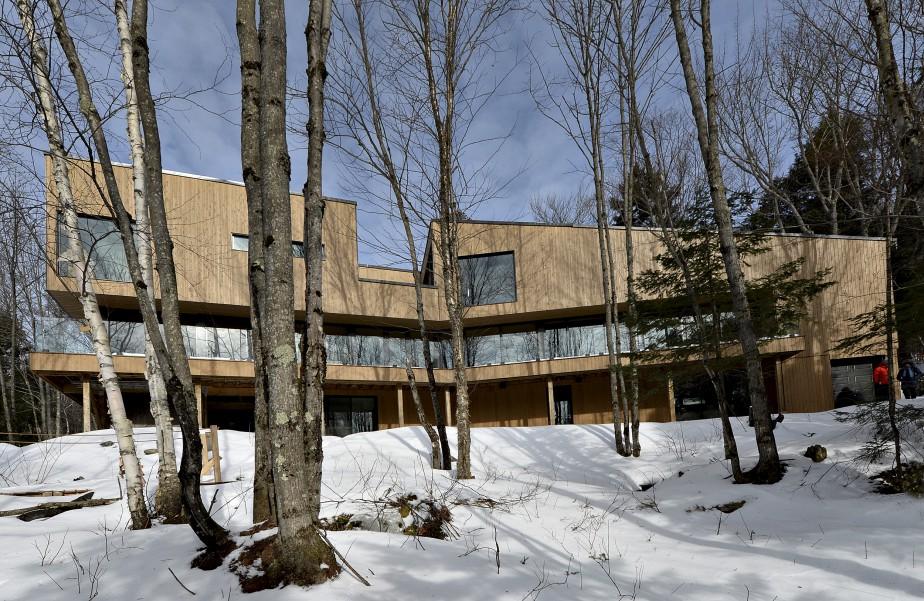 La maison longue est étroite : 15 pieds de largeur au rez-de-chaussée, 18 pieds à l'étage. (Le Soleil, Patrice Laroche)