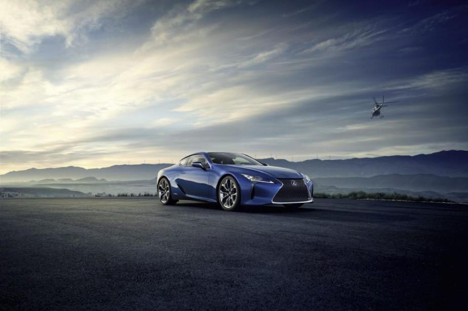 Lexus LC 500h... (PHOTO FOURNIE PAR LEXUS)