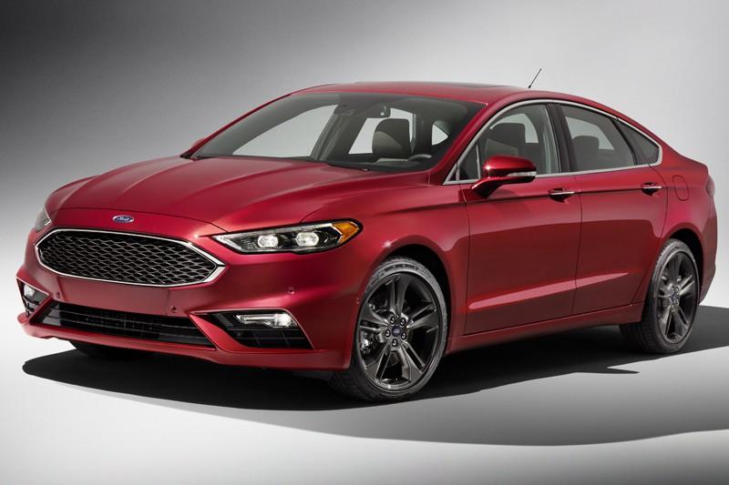 Ford Fusion 2017- primeur québécoise (fournie par Ford)