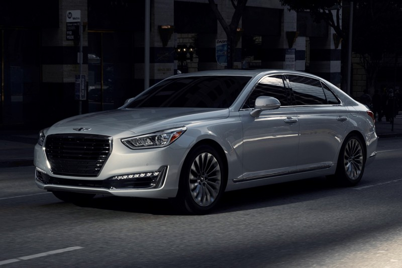 Genesis G90- primeur québécoise (fournie par Hyundai)