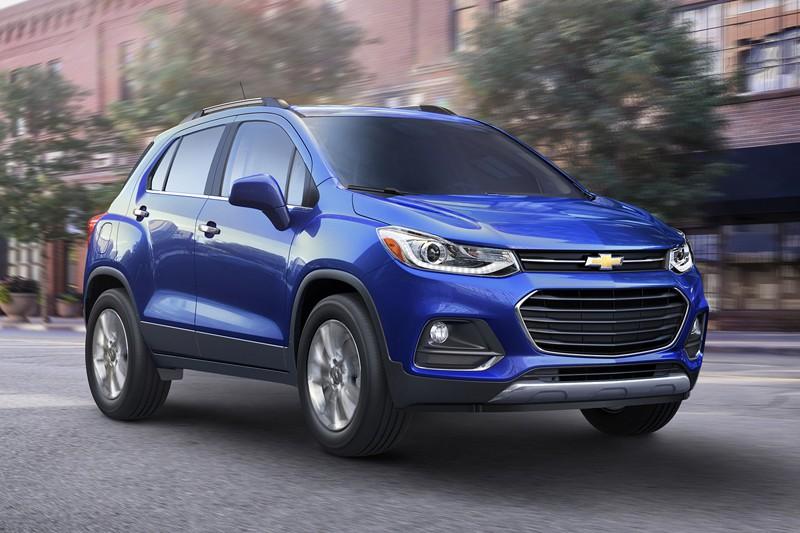 Chevrolet Trax 2017- primeur québécoise (fournie par General Motors)