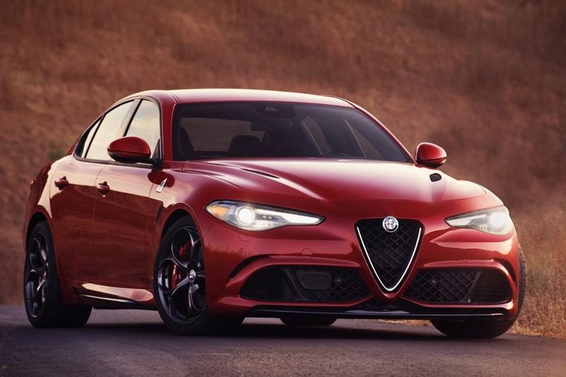 Alfa Romeo Giulia Quadrifoglio 2017 (fournie par Alfa Romeo)