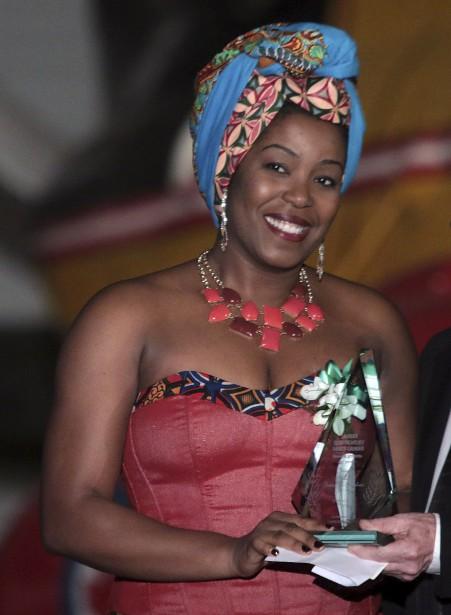 Yvette Yende-Ashiri, récipiendaire du Laurier du nouvel arrivant de l'année (Etienne Ranger, LeDroit)