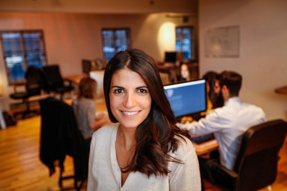 Stephanie Liverani est cofondatrice et chef des opérations... (Photo Olivier Pontbriand, Archives La Presse)