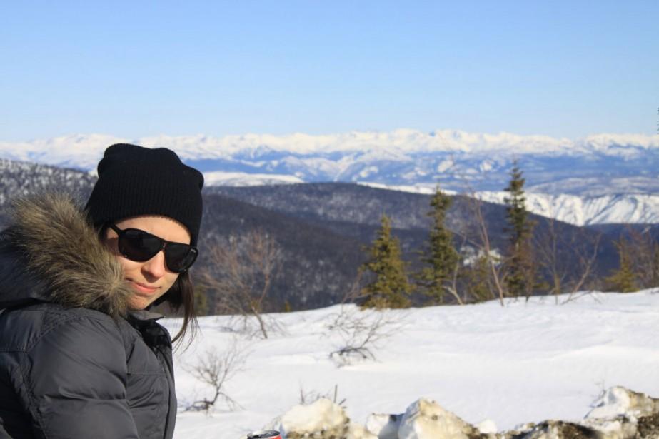 Émylie Thibeault-Maloney habite à Whitehorse au Yukon depuis... (PHOTO FOURNIE PAR ÉMYLIE THIBEAULT-MALONEY)