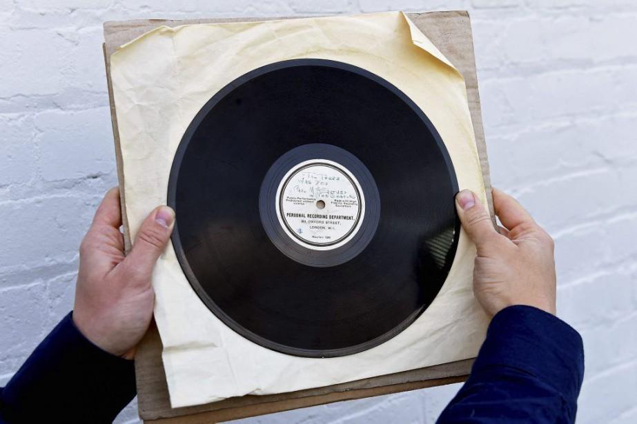L'enregistrement ayant convaincu George Martin de produire les... (PHOTO AFP)