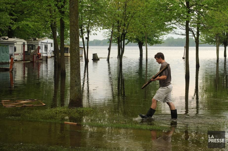 Si les coûts des inondations sont si élevés,... (Photo archives La Presse)