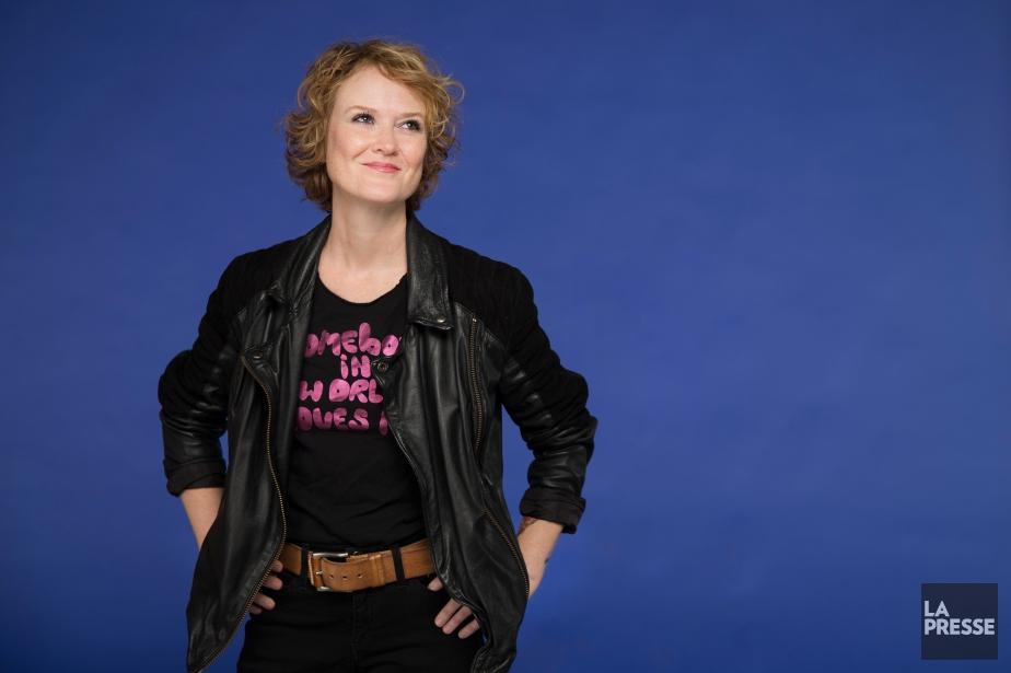 Mara Tremblay est la nouvelle ambassadrice de la... (PHOTO IVANOH DEMERS, LA PRESSE)