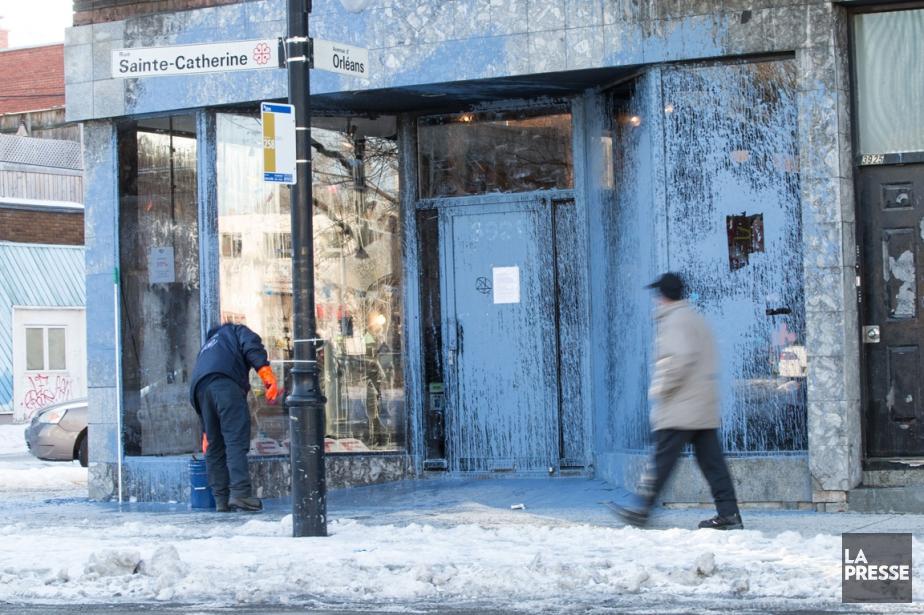 La boutique de vêtements pour Electrik Kidz a... (Photo Hugo-Sébastien Aubert, La Presse)