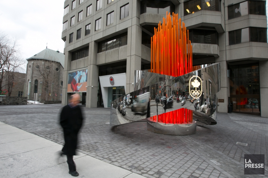 La Maison olympique canadienne n'est toujours pas ouverte... (PHOTO FRANÇOIS ROY, ARCHIVES LA PRESSE)