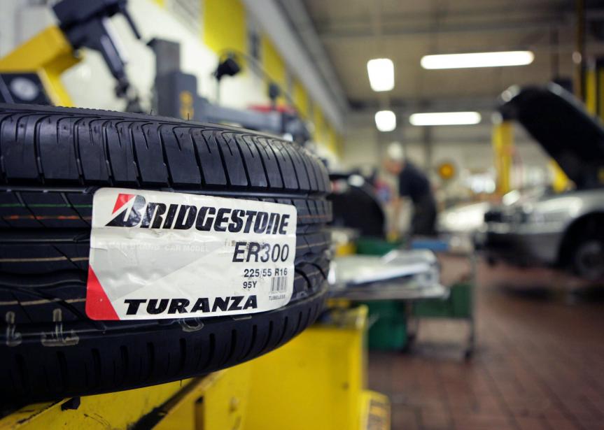 L'usine de Bridgestone de Joliette modernise ses installations... (PhotoWolfgang von Brauchitsch,archives Bloomberg)