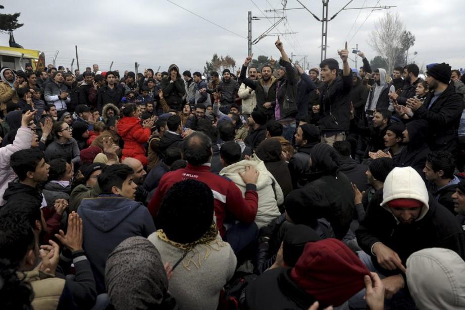 «Selon nos estimations, le nombre de ceux qui... (PHOTO ALEXANDROS AVRAMIDIS, REUTERS)