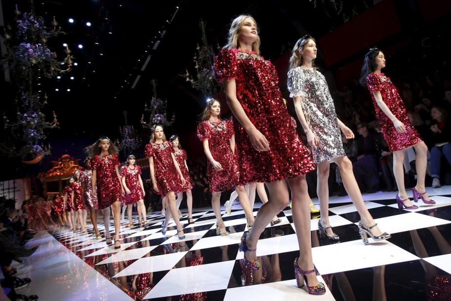 Parées de robes étincelantes ou d'ensembles plus minimalistes,... (PHOTO REUTERS)