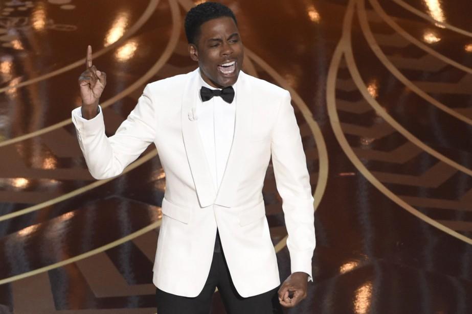 La cérémonie, animée par l'humoriste Chris Rock, a... (PHOTO AP)