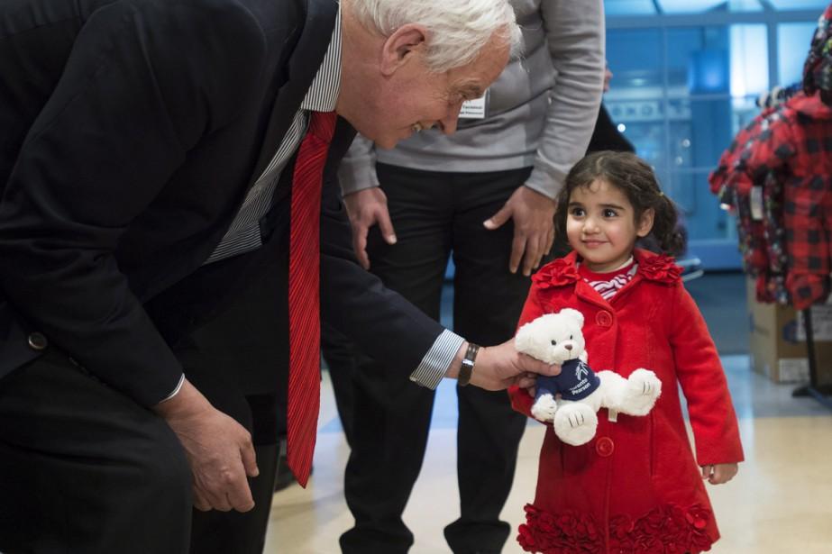 Le ministre de l'Immigration, John McCallum.... (Photo La Presse Canadienne)