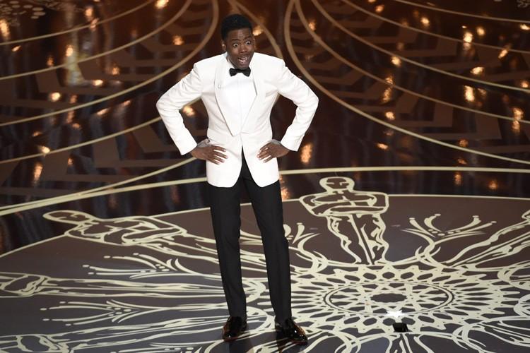 Chris Rock a été l'animateur du gala des... (PHOTO AP)