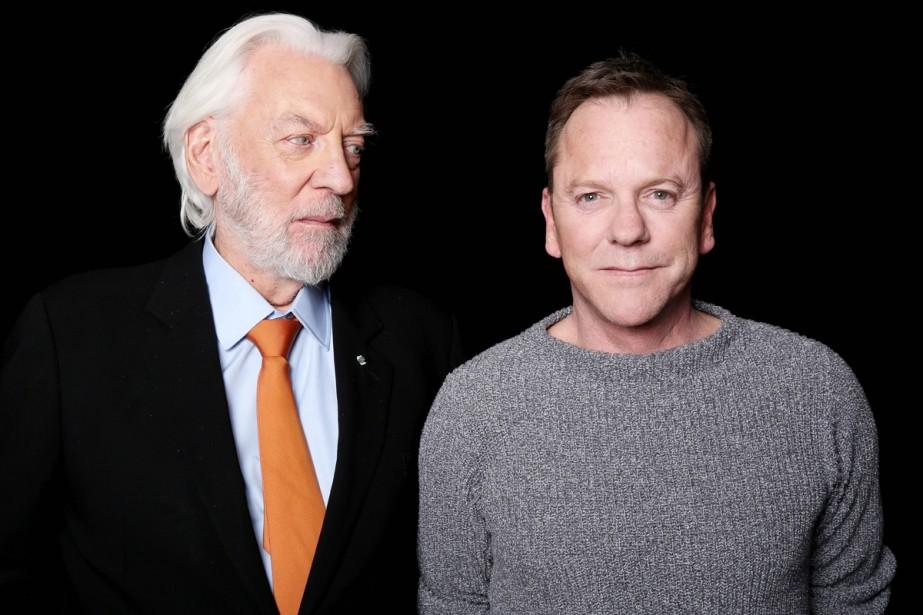 Donald et Kiefer Sutherland... (PHOTO AP)