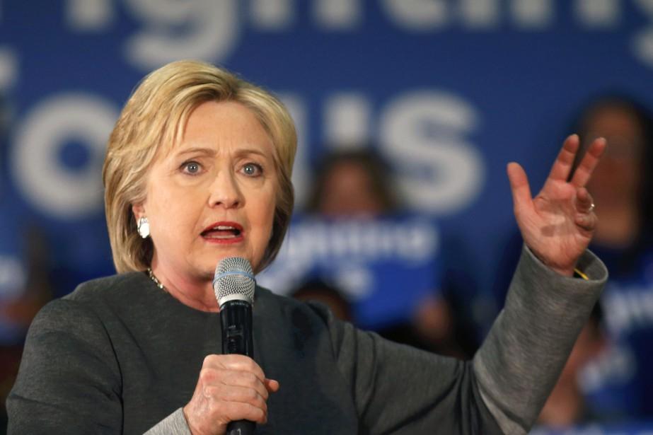 La publicité d'Hillary Clinton cite le cas d'une... (PHOTO GERALD HERBERT, ASSOCIATED PRESS)