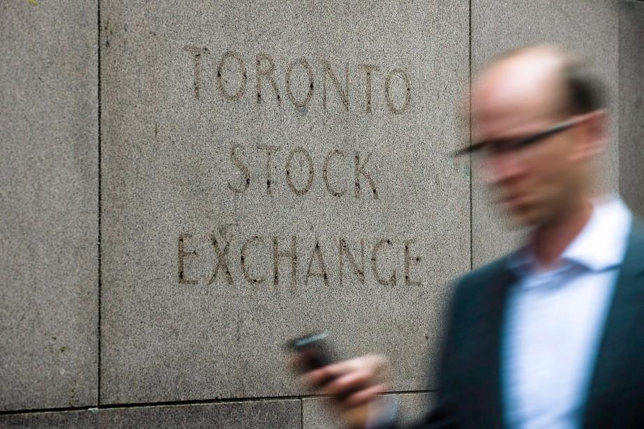 L'indice composé S&P/TSX progressait de 90,03 points en... (Photo archives La Presse Canadienne)