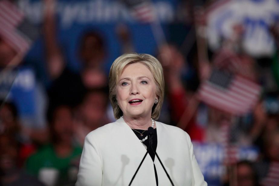 Hillary Clinton... (Photo Javier Galeano, Reuters)