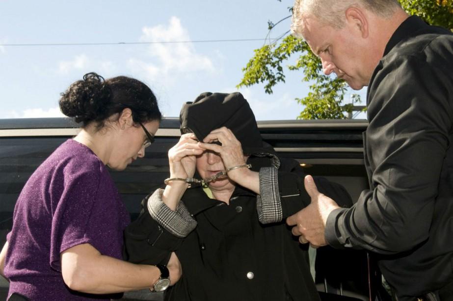 Melissa Ann Weeks, surnommée la veuve noire.... (Photo Vaughan Merchant, Archives La Presse Canadienne)