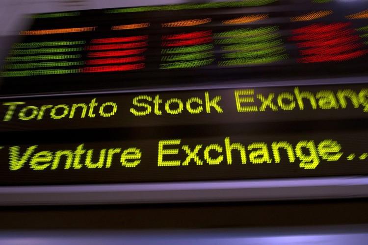 La Bourse de Toronto a clôturé mercredi à son plus haut niveau... (ARCHIVES PC)