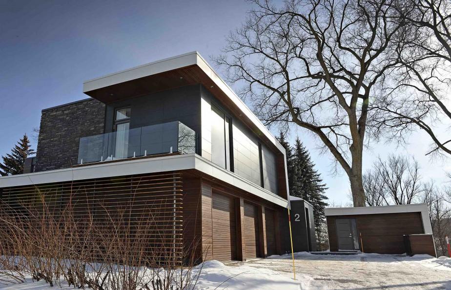 Prix maison d architecte maison de 270 m2 avec 4 chambres for Prix maison architecte