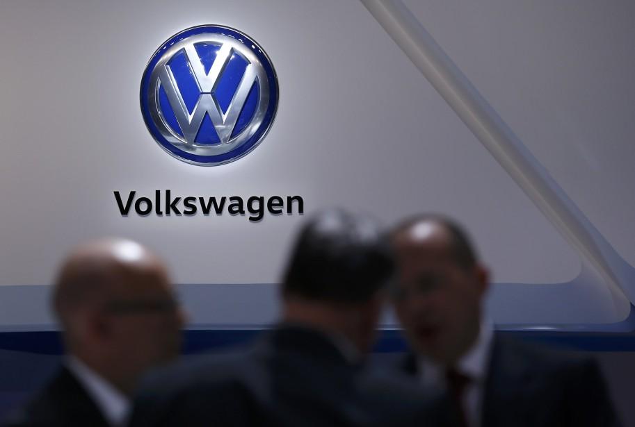 «Volkswagen est un exemple effrayant de l'éloignement qui... (PHOTO DENIS BALIBOUSE, REUTERS)