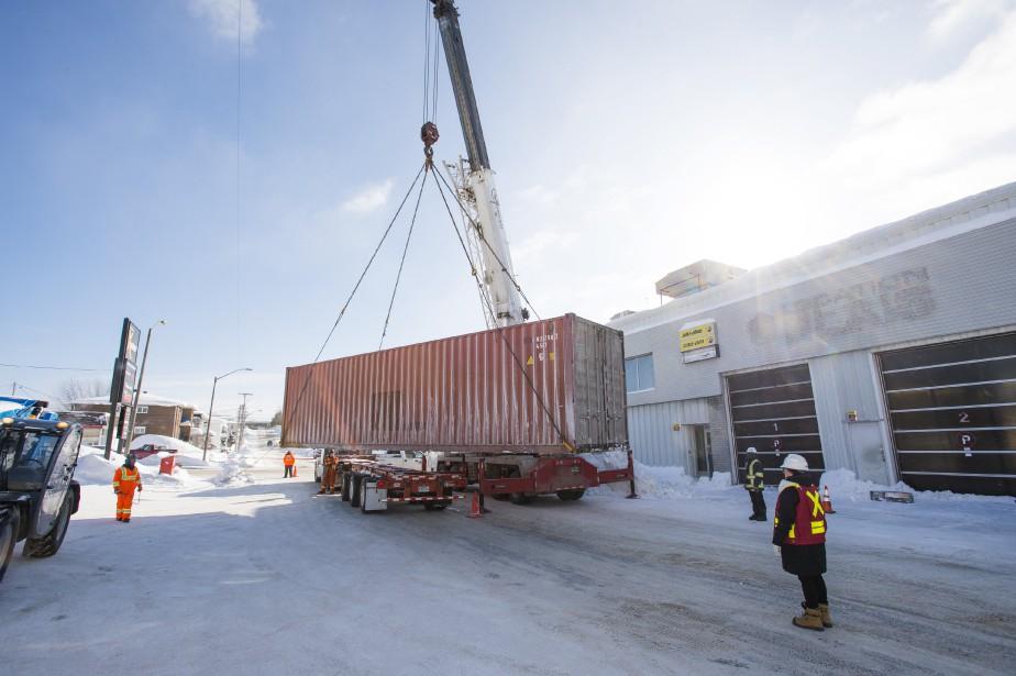 Nouvelle venue en Abitibi, Excalibur gère la construction... (Photo fournie par Excalibur)