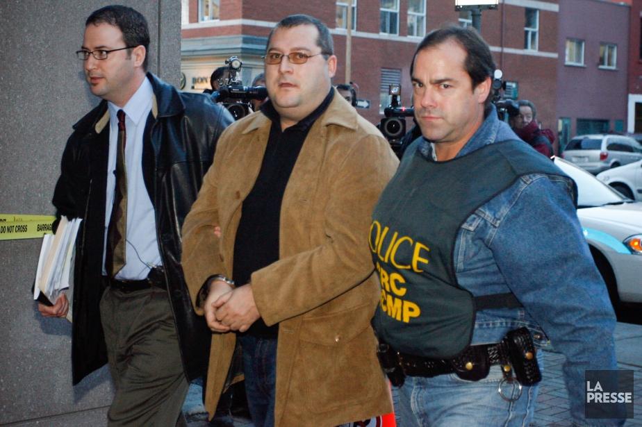 Francesco DelBalso (au centre) avait été arrêté en... (Photo François Roy, archives La Presse)