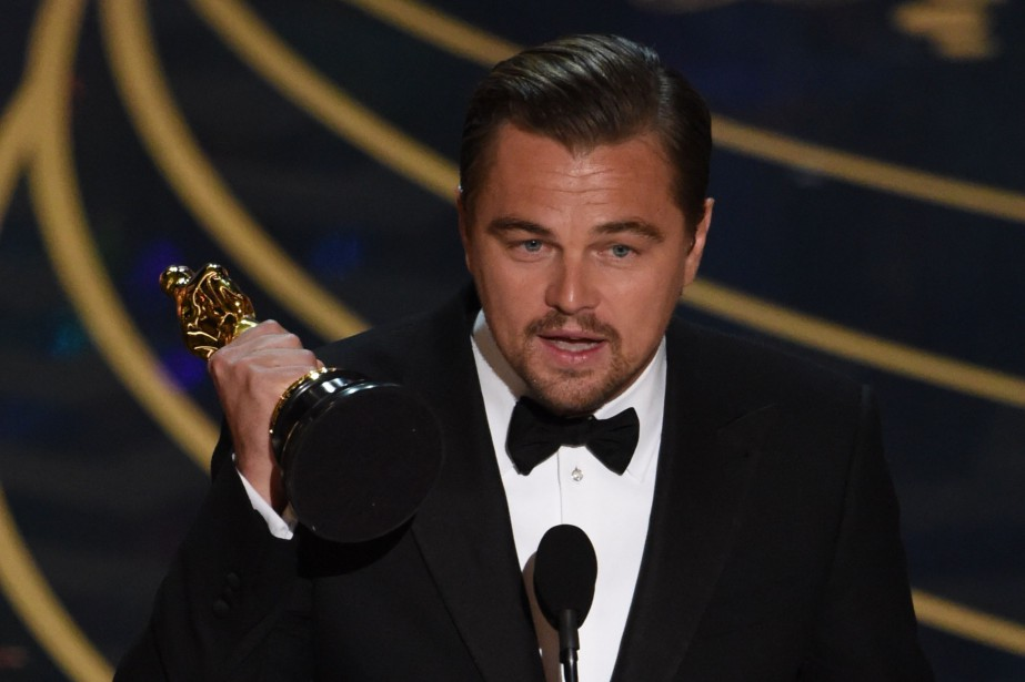Leonardo DiCaprio a gagné dimanche dernier son premier... (PHOTO MARK RALSTON, AGENCE FRANCE-PRESSE)
