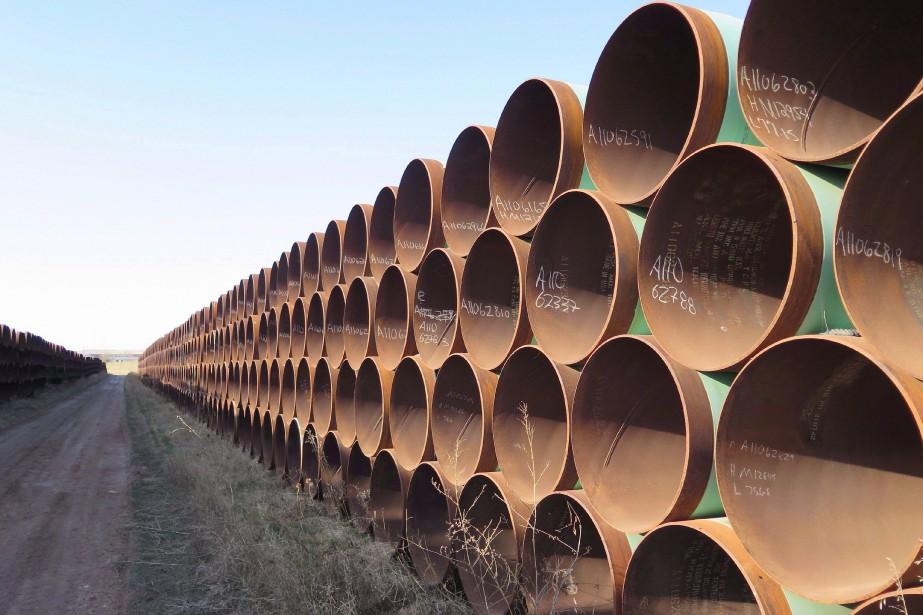 S'il est approuvé, le pipeline transporterait du brut... (Photo archives La Presse Canadienne)