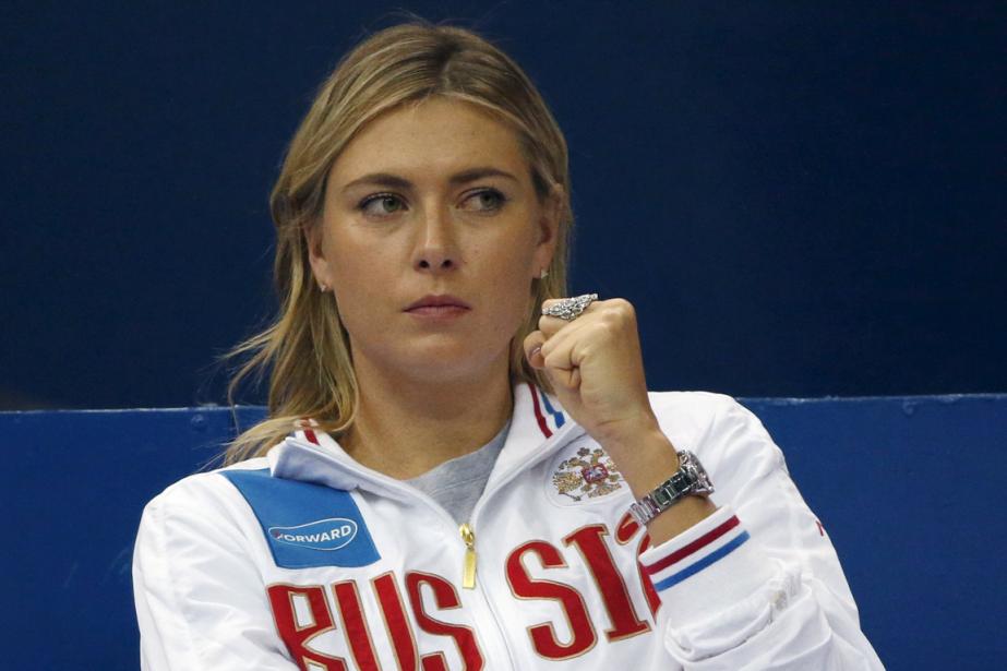 Maria Sharapova... (Photo Grigory Dukor, archives Reuters)