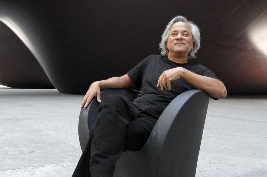Le sculpteur britannico-indien Anish Kapoor reçoit lundi... (PHOTO ARCHIVES AFP)