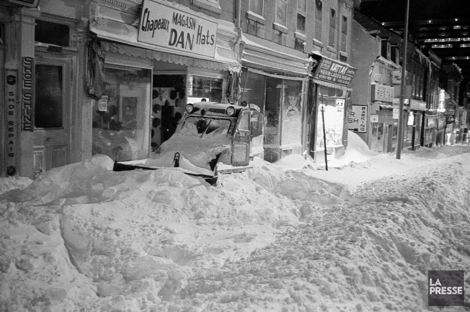 La tempête a fait 17 morts à Montréal,... (PHOTO ARCHIVES LA PRESSE)