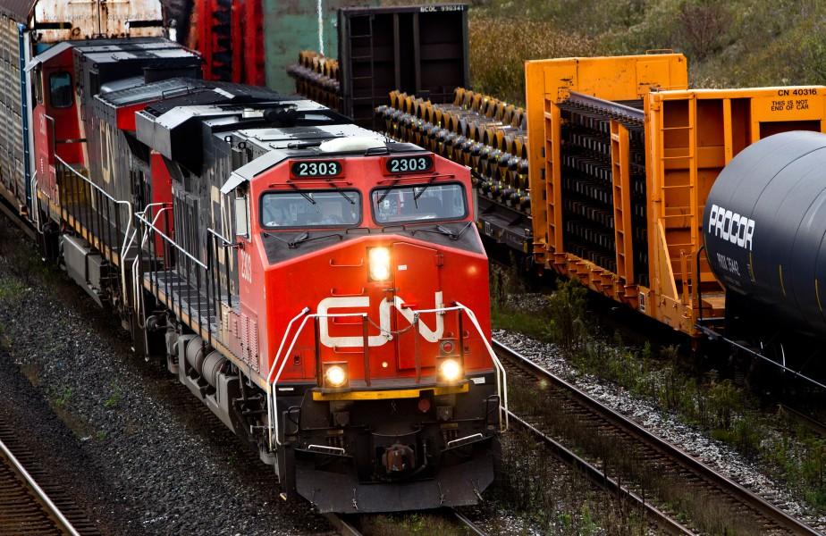 Le CN divulguera ses résultats trimestriels en fin... (PHOTO BRENT LEWIN, ARCHIVES BLOOMBERG)
